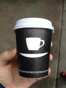 Ninth Street Espresso in New York City.