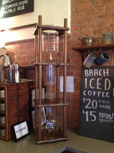 Birch Coffee in New York City.