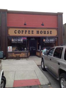 Lucky Bros. Coffeehouse in Columbus, Ohio.