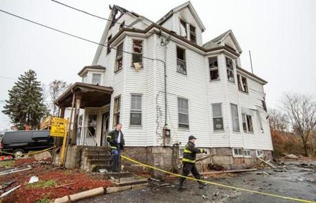 On Nov. 27, a fire was started at a home on Quincy Avenue in Quincy.