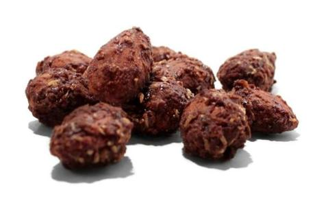 Chocolate Coconut Almonds from Q's Nuts in Somerville
