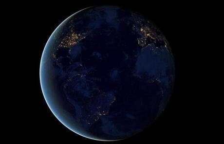NASA has released new photos of the Earth at night, taken by the Suomi NPP satellite earlier this year.