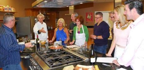 The couples' class at Good Life Kitchen.