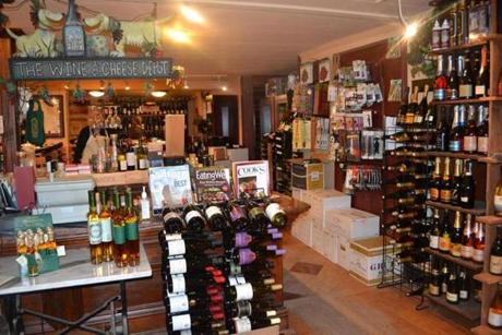 The Wine and Cheese Depot in Ludlow hosts tastings  and has more than 500 wine labels for sale.