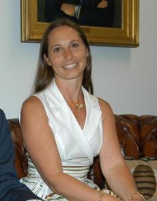A 2010 photo of Dawn Lafferty Hochsprung, principal at Sandy Hook Elementary School, in Newtown, Conn.