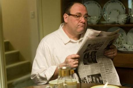 "James Gandolfini as Pat in ""Not Fade Away""."