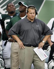 Former Patriots assistant Eric Mangini led the Jets for the first time against his old team.