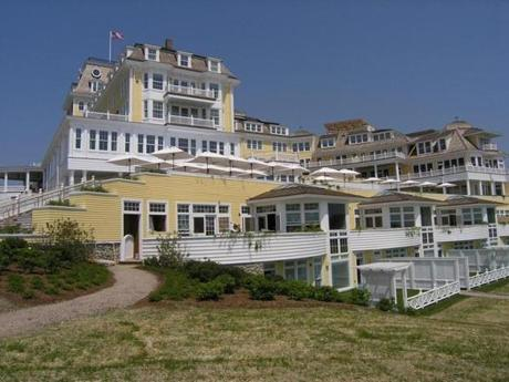 The Ocean House in Watch Hill, a village of Westerly, R.I., is an exact replica of the inn that welcomed guests for 136 years, and looks out on the Atlantic Ocean, Block Island, and Montauk, N.Y.