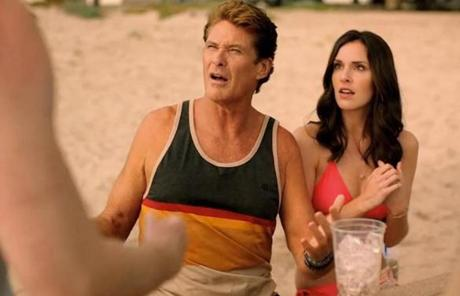 HIT - Full Contact Advertising featured David Hasselhoff in a Cumberland Farms commercial.