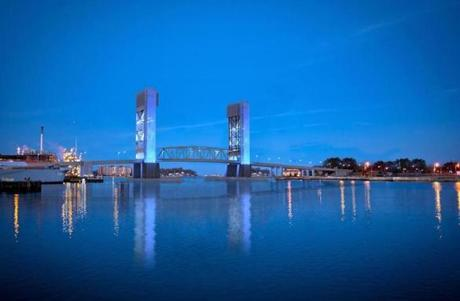 A rendering of the Fore River Bridge.