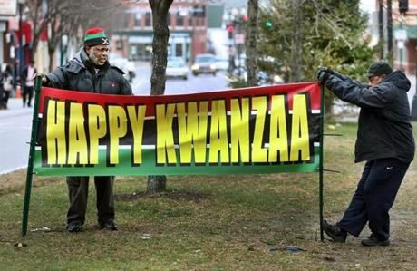 Boston's Kwanzaa committee has evolved into a week of festivities hosted by 21 community organizations in different locations across the city.
