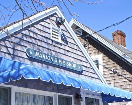 Marion's Pie Shop.