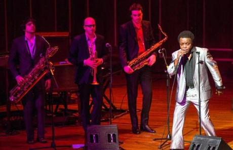Lee Fields and the Expressions performed at Jordan Hall in Boston.