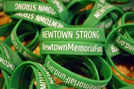 "Bellingham resident Jeff Belanger said ""Newtown Strong"" has become his group's motto."