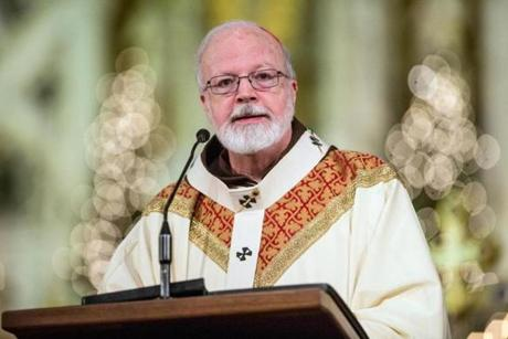 Cardinal Sean O'Malley of the Boston Archdiocese is not expected to be in the running to  succeed Pope Benedict XVI.