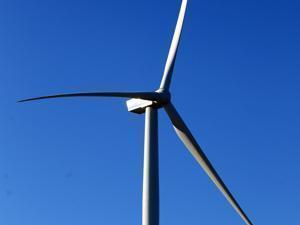Varian's new 492 foot Wind turbines in Gloucester