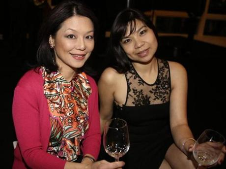From left: WHDH-TV (Channel 7) anchor-reporter Janet Wu and Jennifer Townsend of Swampscott.