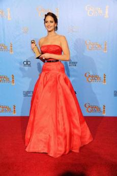 Jennifer Lawrence was the winner of Best Performance by an Actress in a Motion Picture for