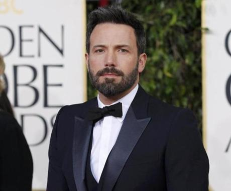 Ben Affleck won  a Golden Globe award for the best director for