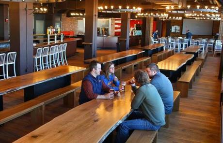 But the neighborhood has changed. The brewer underwent a $3.5 million renovation to better accommodate visitors who flock to it.