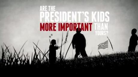 The National Rifle Association released an ad Wednesday that called Obama a hypocrite because his daughters are protected by gun-carrying Secret Service agents.