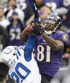 Anquan Boldin has come through in the clutch for the Ravens this postseason.
