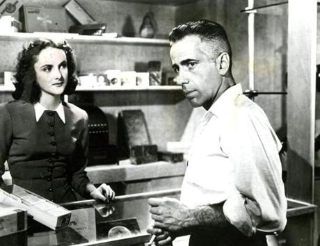 "Humphrey Bogart in ""High Sierra"" Museum of Modern Art/Film Archives."
