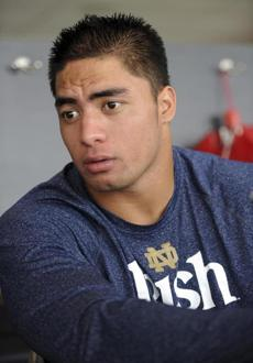 Notre Dame linebacker Manti Te'o was embroiled in an online hoax.