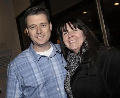 Boston Firefighter Michael Gormley and his wife, Karen, of West Roxbury.