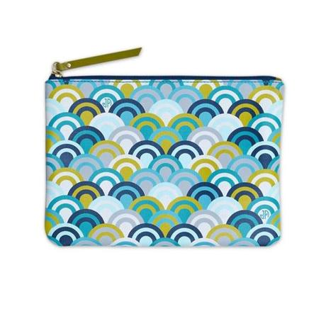 JA Blue Scales pouch , $38 from Jonathan Adler