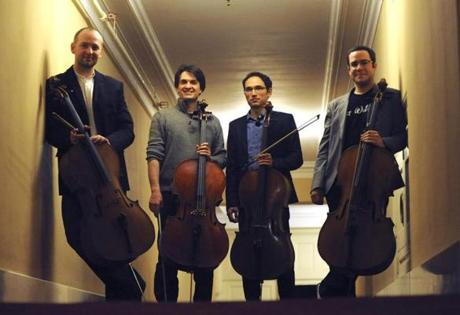 From left: Mihail Jojatu, Alexandre Lecarme, Adam Esbensen, and Blaise Dejardin.