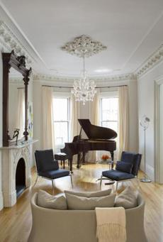 Townhouse in South End, designed by Pamela Butz and Jeffrey Klug. For the 2/3/13 Your Home magazine issue.