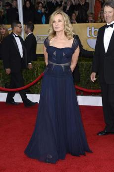 "Jessica Lange We're always rooting for the ""American Horror Story"" star who won outstanding performance by a female actor in a drama series. After many sartorial flops, she finally shined in a J.Mendel gown."