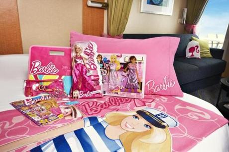 A Barbie Premium Experience is available for girls ages 4 to 11 on Royal Caribbean International cruises.