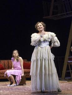 Celia Keenan-Bolger plays Laura, the shy daughter of Amanda (Cherry Jones), a Southern Belle living in the past.