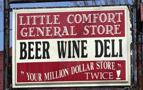 The Little Comfort General Store.