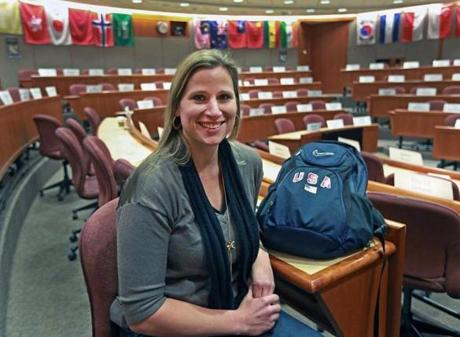 Angela Ruggiero is a student and an advocate for athletes worldwide.