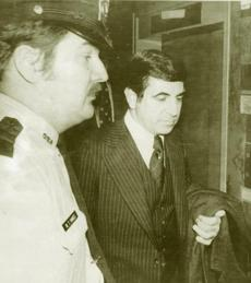 Former state Senator Joseph DiCarlo in 1978 began serving a prison term for extortion.