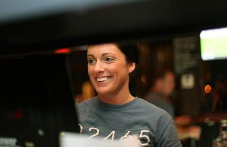 The Local, in Newton, is known for its friendly bartenders. Stephanie Penell is one of them.