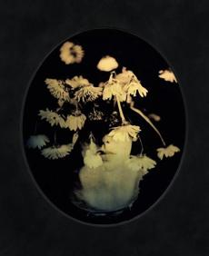 """Bloom"" is one of Scott McMahon's tintypes."