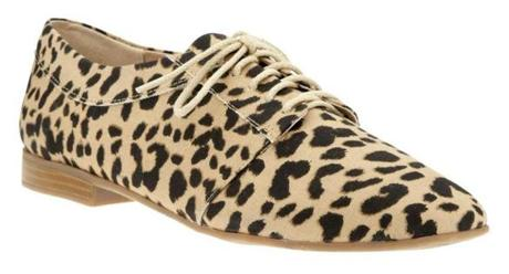 Leopard-print oxford, $49.95 at Gap, CambridgeSide Galleria, Cambridge, 617-494-9386, and other locations, gap.com For 2/24/13 Style Watch