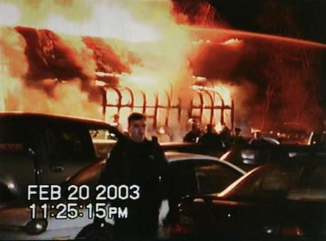 the station nightclub fire The station nightclub fire occurred on thursday, february 20, 2003, in west warwick, rhode island the fire was caused by pyrotechnics set off by the tour manager of the evening's headlining band great white, which ignited plastic foam used as sound insulation in the walls and ceilings surrounding the stage a fast-moving fire with intense.