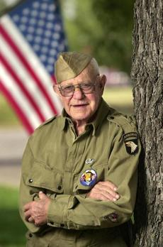 Jake McNiece was a paratrooper from the Filthy 13 during World War II.