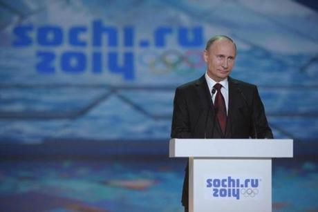 Russian leader Vladimir Putin is seen as the driving force behind the Sochi Games.