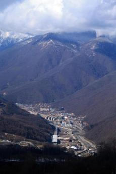 Part of the new infrastructure in Sochi includes new roads, bridges, rails, and an expanded airport.