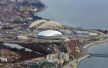 Sochi is a resort town that many vacationers come to for sun and relaxation, but is being transformed into a place that can host the Winter Games using its nearby mountains.