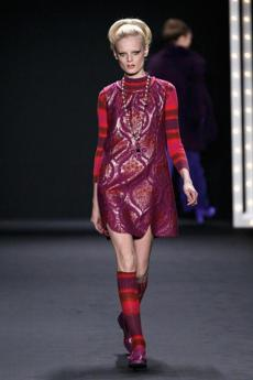 A Sui Fall 2013 piece at the Lincoln Center.
