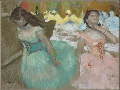 "Edgar Degas's circa 1879 pastel ""Entrance of the Masked Dancers"" from ""Electric Paris."""
