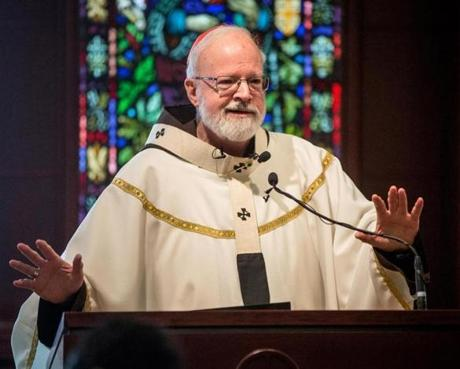 Cardinal O'Malley's sermon Friday included serious and humorous insights on the papacy.