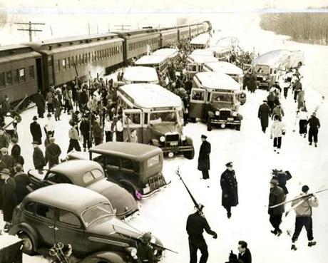 January 24, 1932 / More than 600 New Yorkers arrived on the